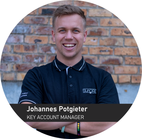Johannes Potgieter - key Account Manager for Sunstone Logistic Systems