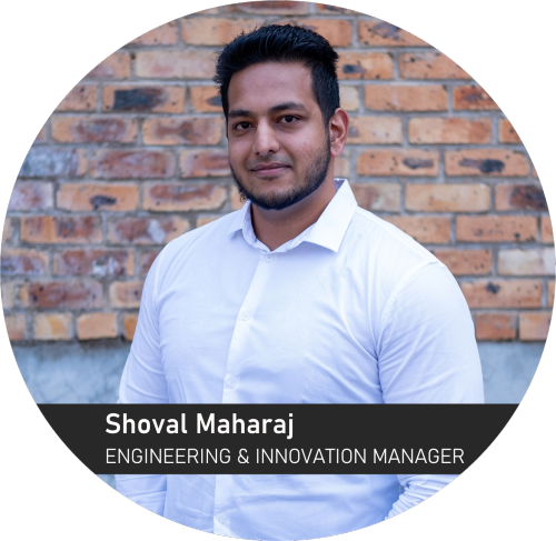 Shoval Maharaj - Engineering & Innovation Manager for Sunstone Logistic Systems